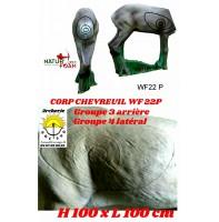 Natur foam bête 3D corps de chevreuil wf22 p