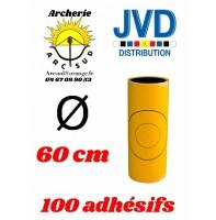 Jvd adhésif jaune blason 60 cm