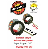 Speciaty archery support scope 1 5/8