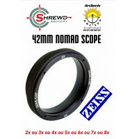 Shrewd verre scope nomad 42 mm