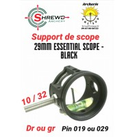 Shrewd support scope 29 mm essentiel noir