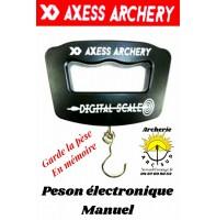 Axess archery peson électronique Manuel