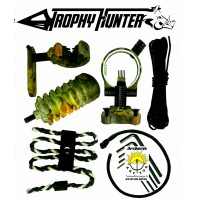 Thophy hunter kit camo viseur repose flèche ect