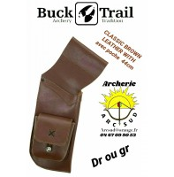 Buck trail carquois field classic leather wilh