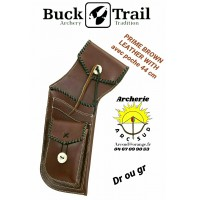 Buck trail carquois field prime leather wilh