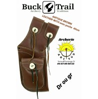 Buck trail carquois field antique leather wilh