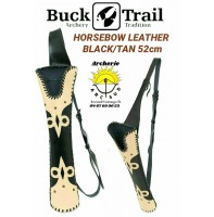 Buck trail carquois dorsale horsebiw leather
