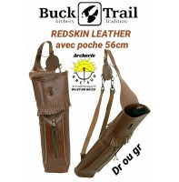 Buck trail carquois dorsale redskin leather