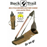 Buck trail carquois dorsale big stag leather