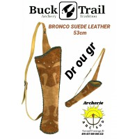 Buck trail carquois dorsale bronco leather
