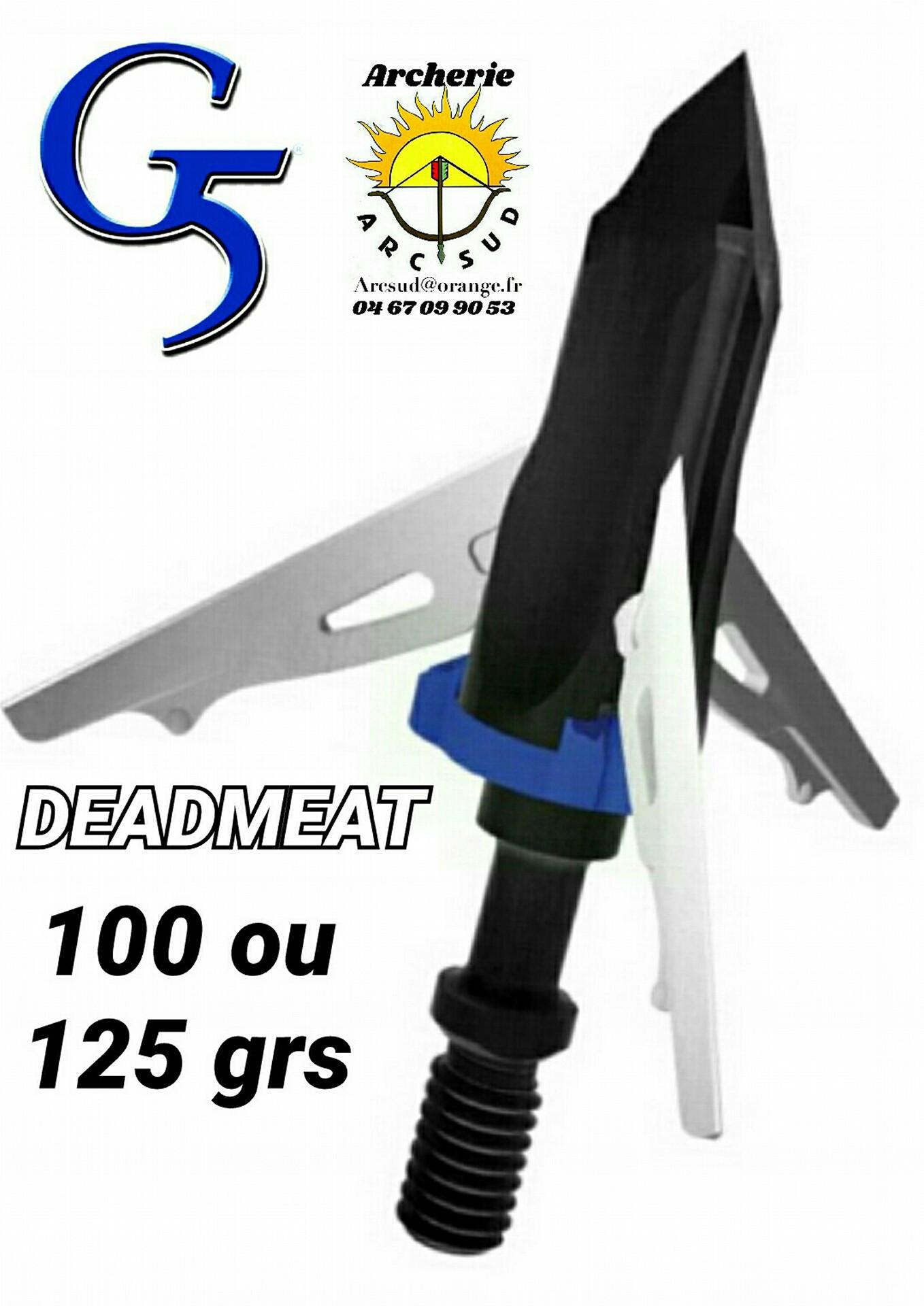 G5 DEADMEAT//viande morte de Rechange Lame Kit 100/% Grade A En Acier 860
