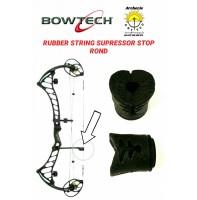 Bowtech amortisseur caoutchouc rond stop corde