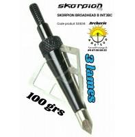 Skorpion lames B-INT3BC (pack de 6)