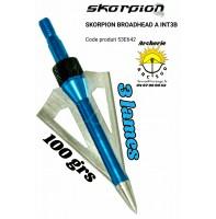 Skorpion lames A-INT3B (pack de 6)