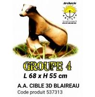 AA cible 3d Blaireau 537313