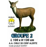 AA cible 3d Cerf alerte 533997