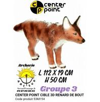 C point bête 3d renard debout 53m154