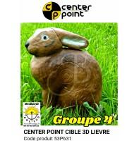 C point bête 3d lièvre 53P631
