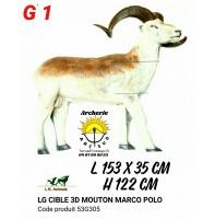 LG bêtes 3d mouton Marco polo