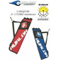 Avalon carquois A3 3 tubes