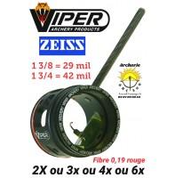 scope viper 1 3/4 ou 1 3/8 pouces