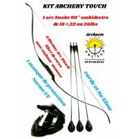 Kit snake archery touch 60 pouces