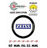 Shrewd verre Scope optum