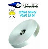 Avalon poids Disque 1 rondelle
