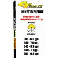 Gold tip tube carbon kinetic pierce (par 12)