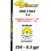 Gold tip tube carbon nine 3 max (par 12)