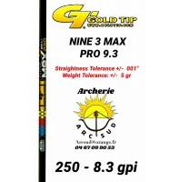 Gold tip tube carbon nine 3 max pro (par 12)