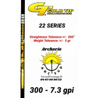 Gold tip tube carbon 22 series (par 12)