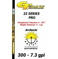 Gold tip tube carbon 22 series pro (par 12)