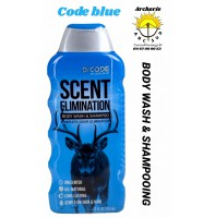 Code blue body wash shampooing