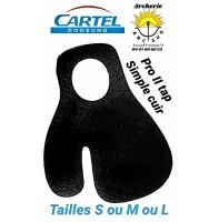 Cartel protège doigt simple...