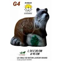 LG bêtes 3d grand raton laveur