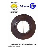 Gehmann insert n•1 oeilleton iris