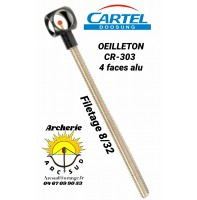 Cartel oeilleton alu 4 faces cr 303