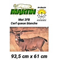 Martin blason animal 2FB cerf