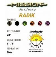 Mission arc à poulie radik 2019