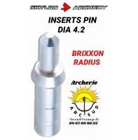 Skylon archery inserts pin dia 4.2 (par 12)
