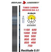 Skylon archery tubes carbon brixxon dia 4.2 (par 12)