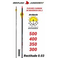Skylon archery flèches carbon 3k maverick (par 12)
