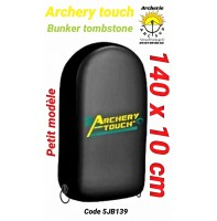 Archery touch bunker tombstone
