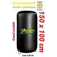Archery touch bunker cylindrique