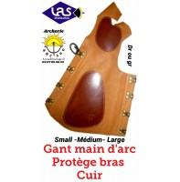 Las gant main d'arc/protège bras (arc hongrois)