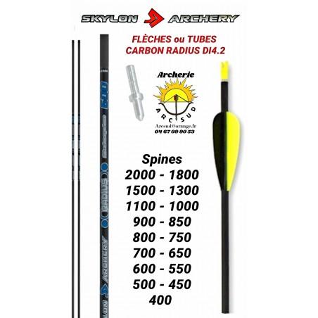 Skylon archery tubes ou flèches radius 4.2 (par 12)