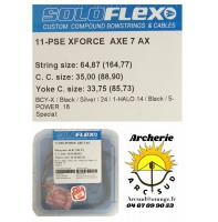 Flex archery set cordages pse x force axe 7