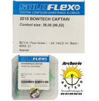 Flex archery lot 2 contrôle câbles bowtech captain