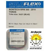 Flex archery lot 2 yoke câbles bowtech rpm 360